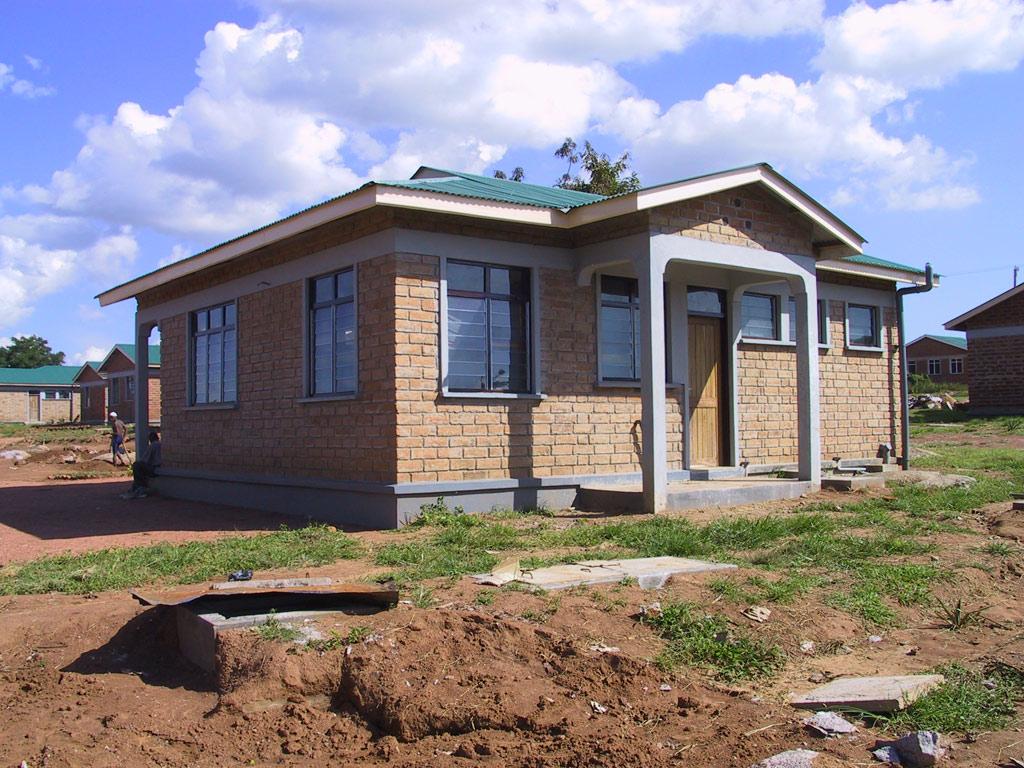 Small Modern House In Tanzania