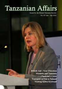 TA 107 cover features British International Development Secretary, Justine Greening