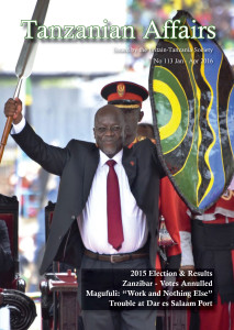TA 113 cover features President Magufuli at his inauguration