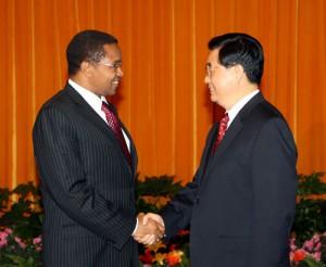 President Kikwete and President Hu Jintao