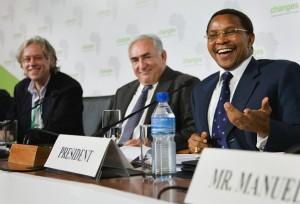 Kikwete at IMF