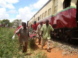 train crash mpwapwa