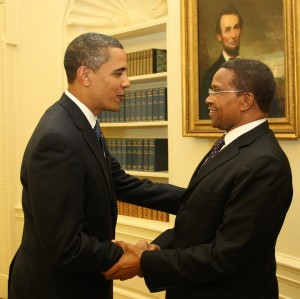 Presidents Kikwete and Obama