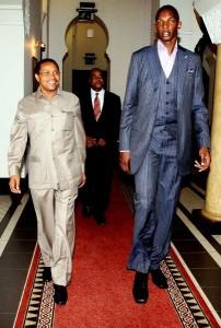 President Kikwete and Thabeet