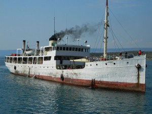 The MV Liemba pictured in 2011 (Spencer McCormick www.toaddis.com)