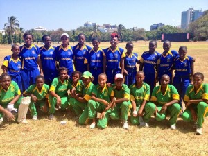 The Tanzanian women's cricket team (BBC)