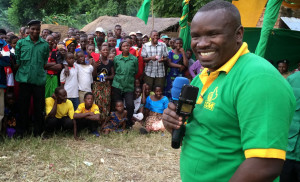 The late Deo Filikunjombe MP speaking at Ludewa in Feb 2015 http://www. hakingowi.com/.