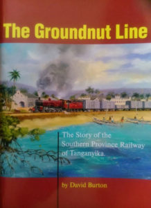 "Illustration on the cover of ""The Groundnut Line"""